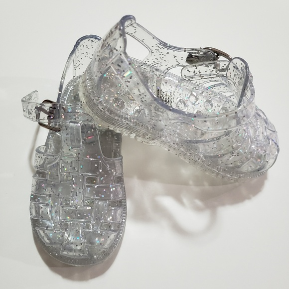 f74e32d42188 GAP Other - Sparkly Jelly sandals